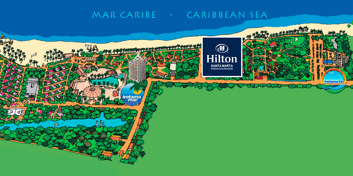 mapa-ubicacion-hotel-hilton-santamartha